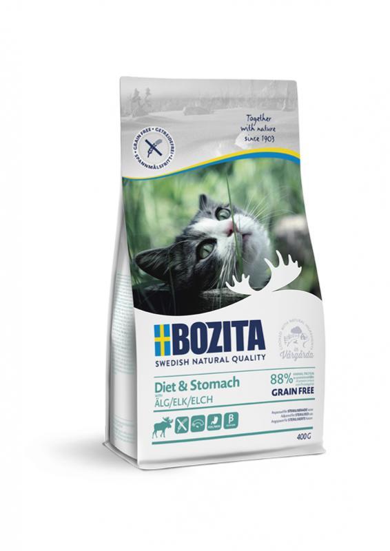 Bozita Feline Sensitive Diet & Stomach GrainFree Elk