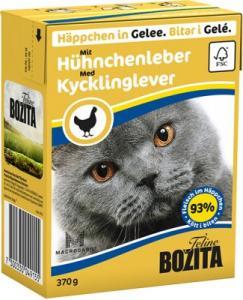 Bozita Bitar i Gelé Kycklinglever 370 g