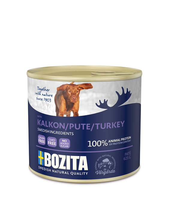 Bozita Turkey paté 625 g