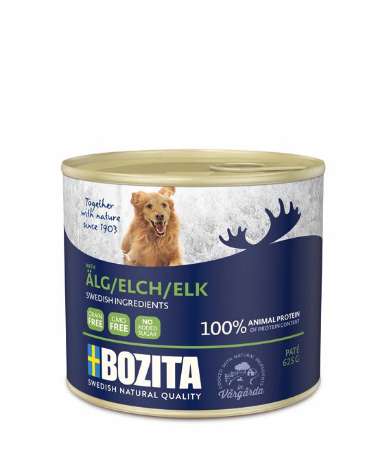 Bozita Elk paté