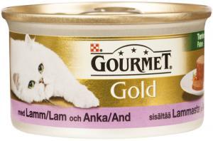 Gourmet Gold Lamm & Anka Paté 85 g