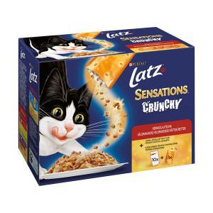 LATZ Sensations Crunchy Kött 10x100g
