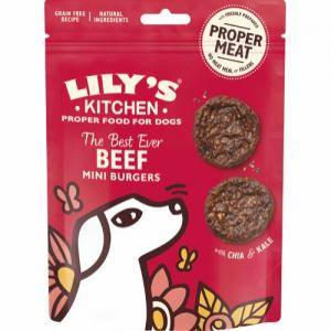 Lily's Kitchen The Best Ever Beef Mini Burgers 70 g