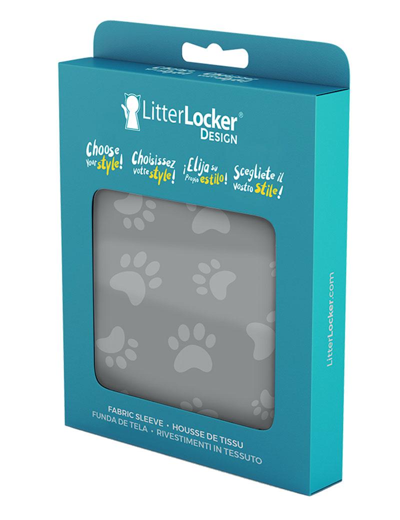 "LitterLocker Design Sleeve ""Cat Paws"""