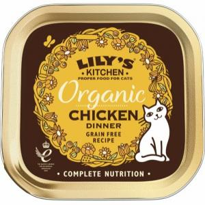 Lily's Kitchen Organic Chicken Dinner 85 g