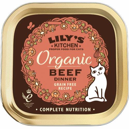 Lily's Kitchen Organic Beef Dinner 85 g