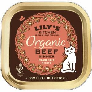 Lily's Kitchen Organic Beef Dinner 85 g