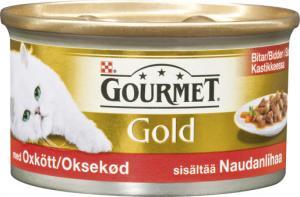 Gourmet Gold Oxkött i sås 85 g