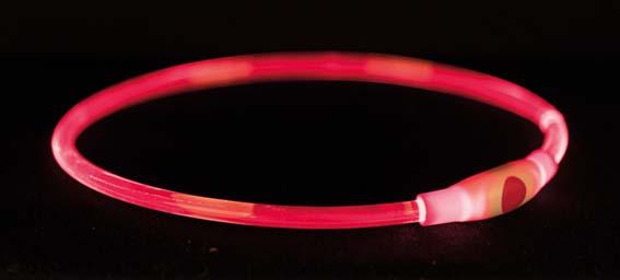 Flash light ring USB, L-XL: 65 cm/ø 8 mm