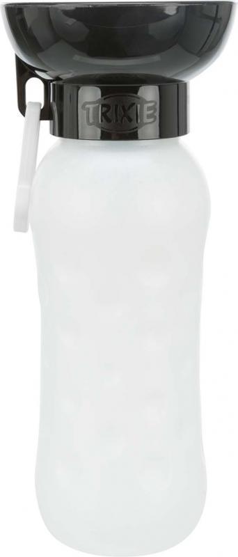 Flaska med skål, plast 0.55 l