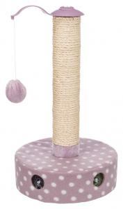 Junior klösmöbel, fleece, ø 26 x 47 cm, ljuslila