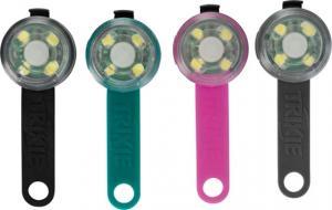 Flasher för hund, USB, ø 3 x 8 cm, mixade färger