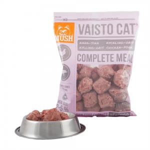 MUSH B.A.R.F Vaisto Cat Gris-kyckling 800 g