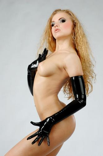 Latex Gloves Long