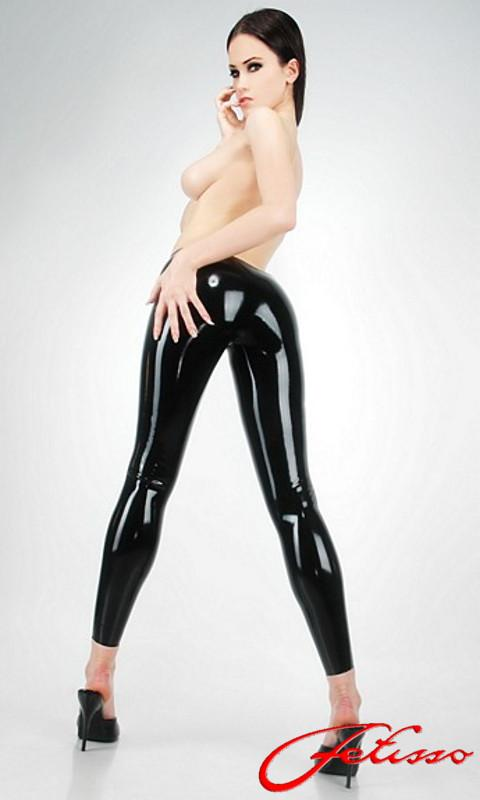 Latex Leggings byxa