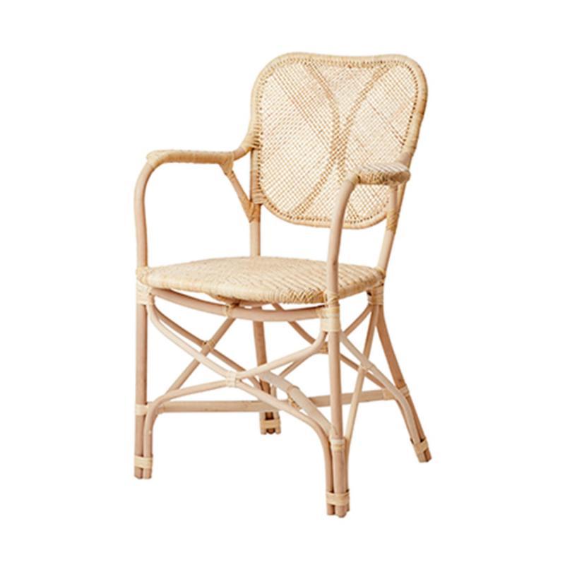 2 st Riviera karmstol- stol i ljus rotting