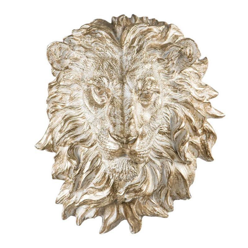Lejonhuvud- Underbar väggdekoration