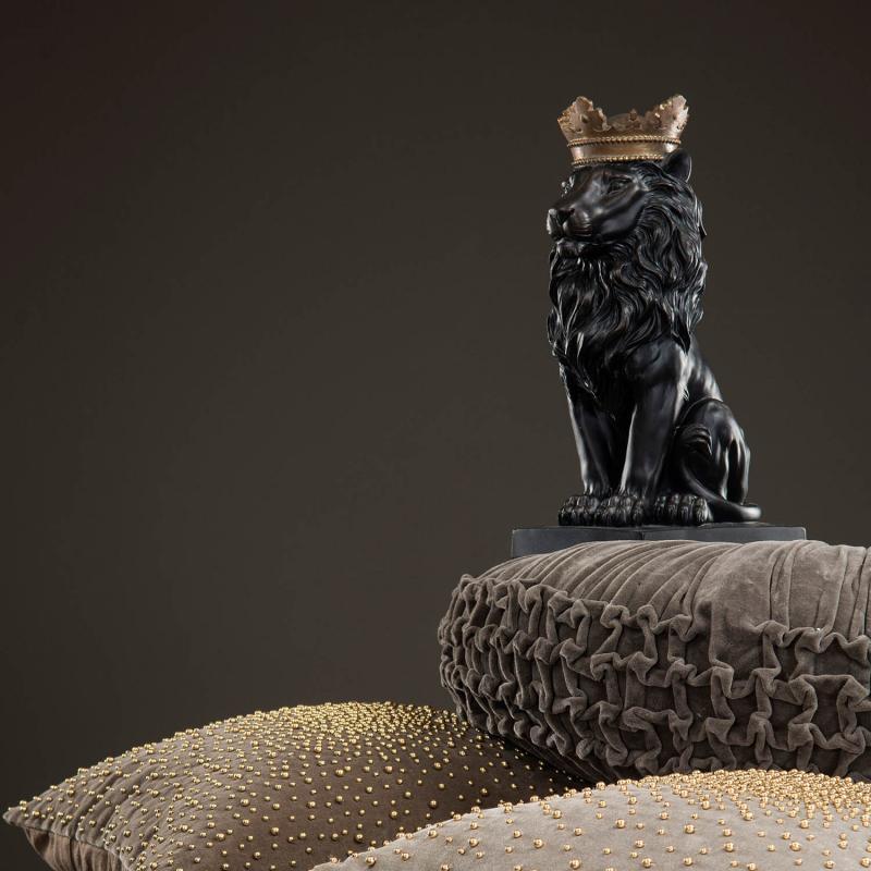 Lejon med krona - dekoration