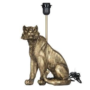 lamphållare med tigerdekoration