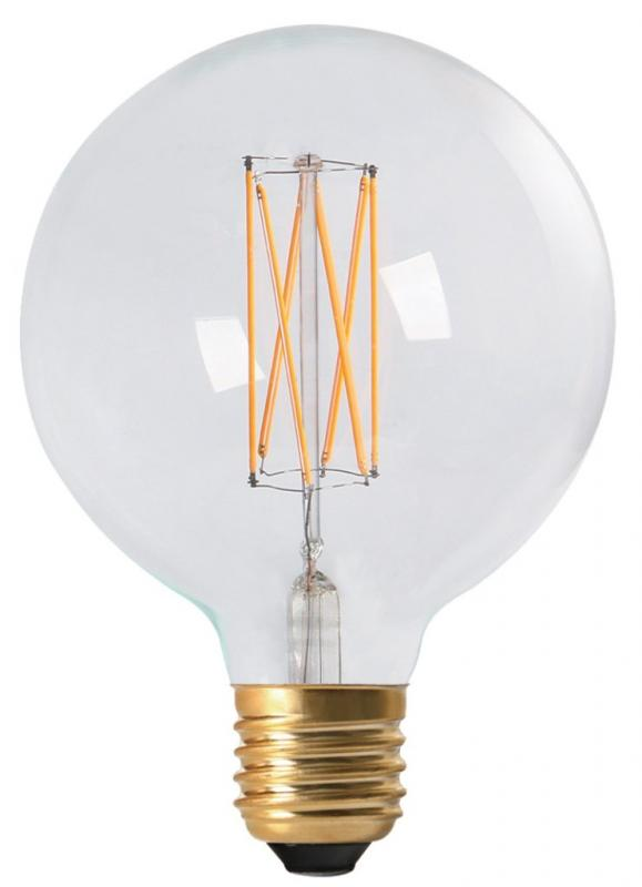 LED-lampa Globe Vintage Filament 125 mm
