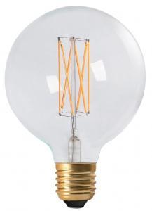 LED-lampa Globe Vintage Filament 125 mm