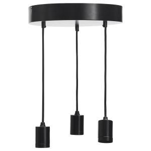 Läcker taklampa med 3 ljuskällor