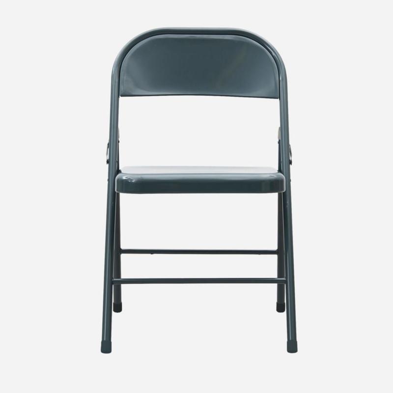 granitgrå klappstol