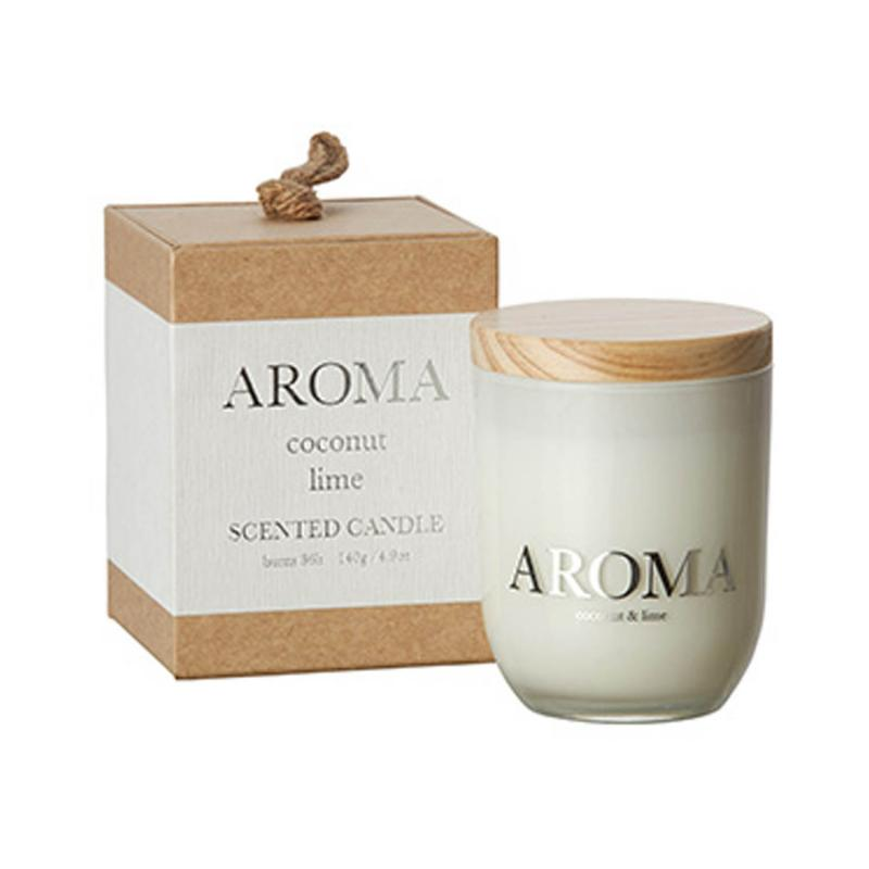 Doftljus Aroma- Coconut & Lime