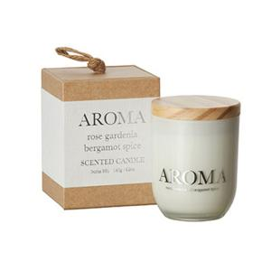 Doftljus Aroma- Rose, Gardenia & Bergamotte