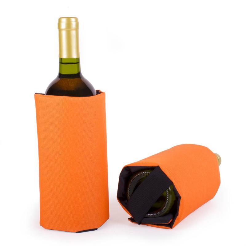 vinhållare wrap orange