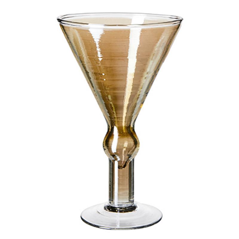 Hyde- martiniglas i tonande färger