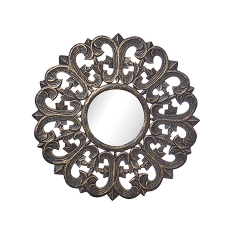 Spegel Carve- i underbart mönster