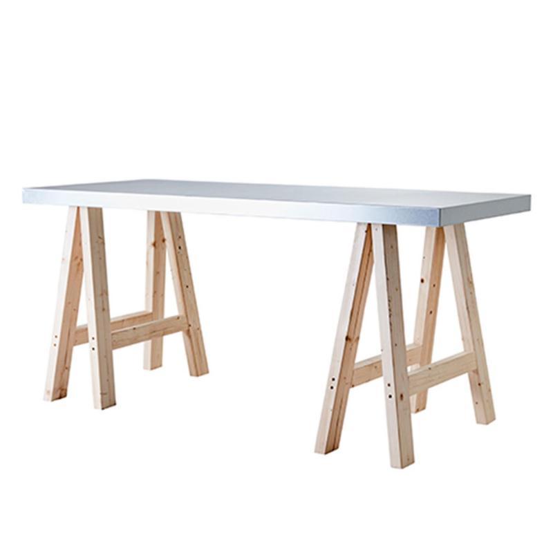 Max planteringsbord- bord med stålskiva