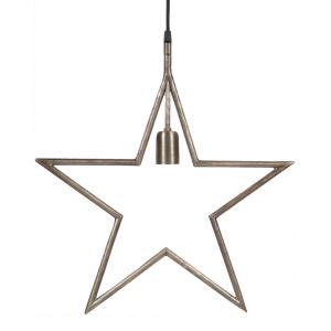 Hängande adventsstjärna - julstjärna  TINDRA - 45 cm