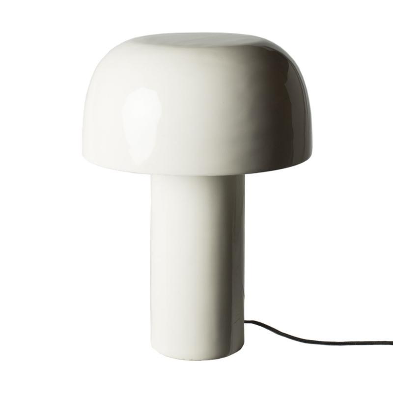 vit bordslampa diva