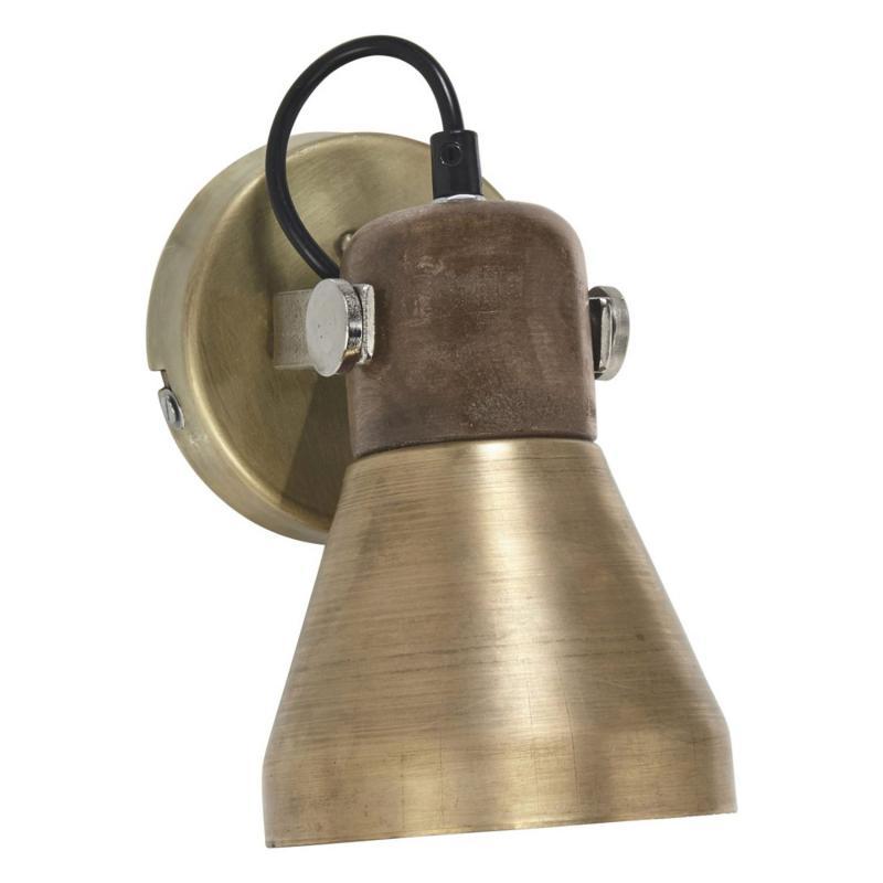 Ashby spotlight i ruff industristil - läslampa i metall