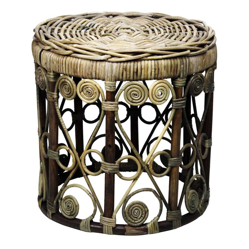 RIVIERA Table round - bord i rotting