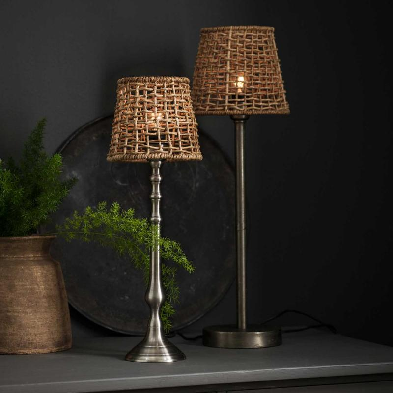 "Lampskärm ""Cebu"" i naturmaterial"
