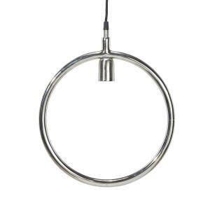 Lampa Circle - rund lampa - krom