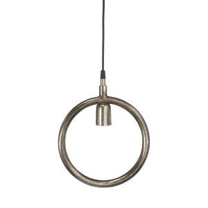 Lampa Circle - rund lampa - råsilver