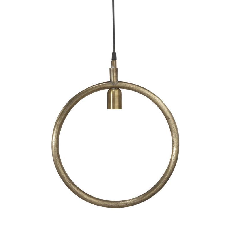 circle lampa i metall