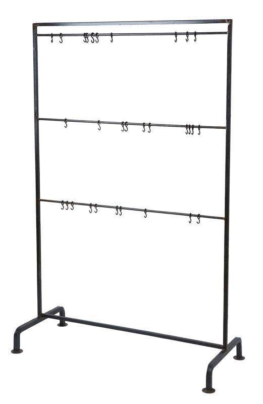 Displayställning  med krokar - hängare med krokar