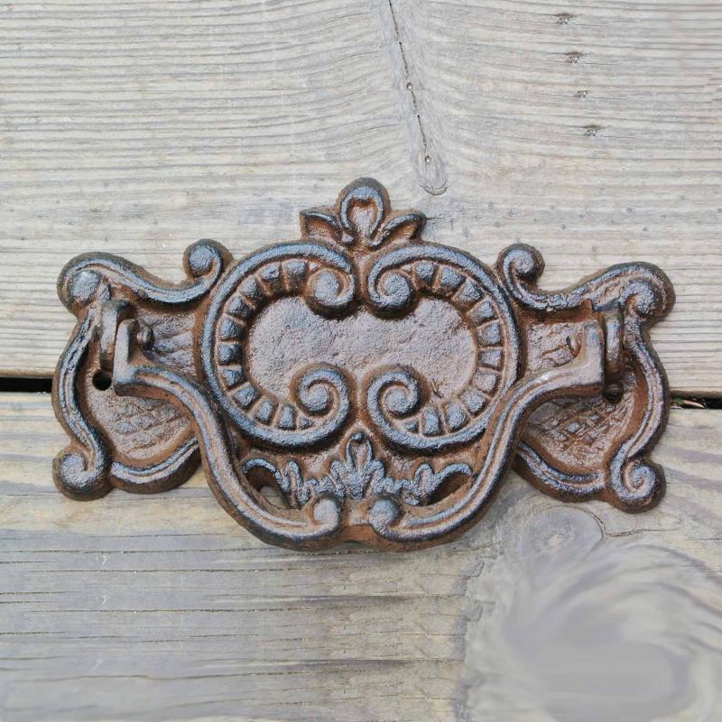 Gedigen dörrkläpp i gjutjärn - dörrknackare