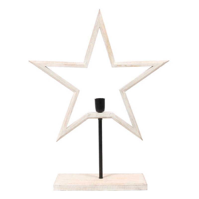 Julstjärna PR Home - lantlig  julstjärna i trä - Farm Star