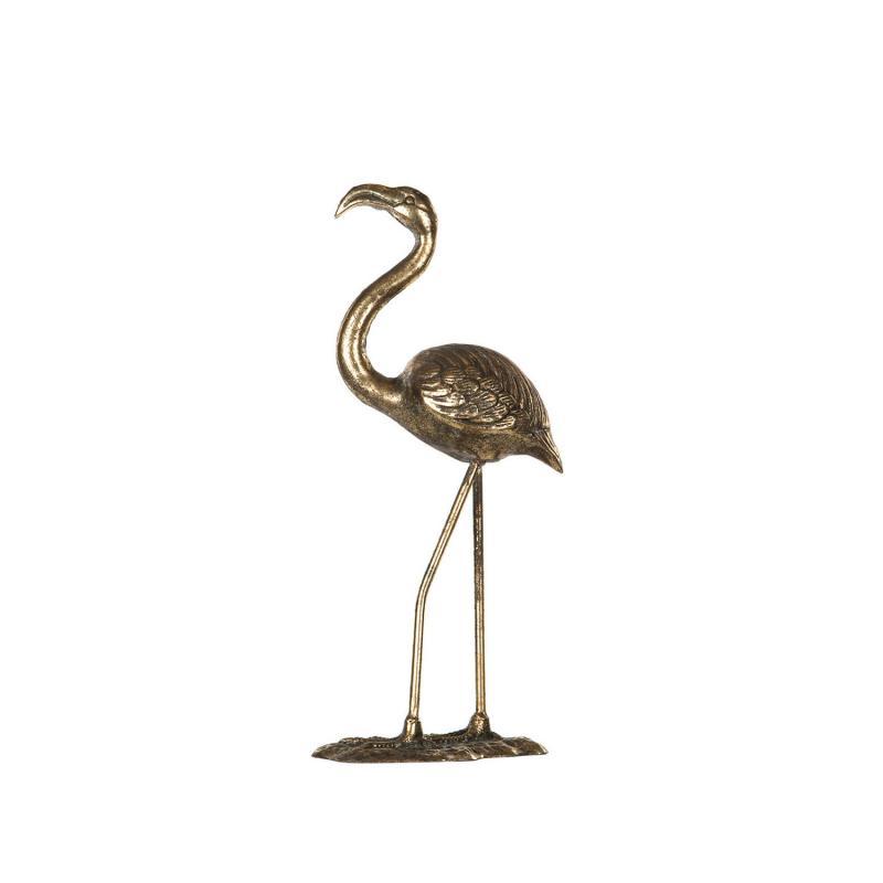 Flamingo- Stor härlig fågel i metall