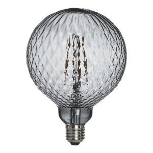 Fasetterad vacker lampa - Elegance LED Globe Cristal