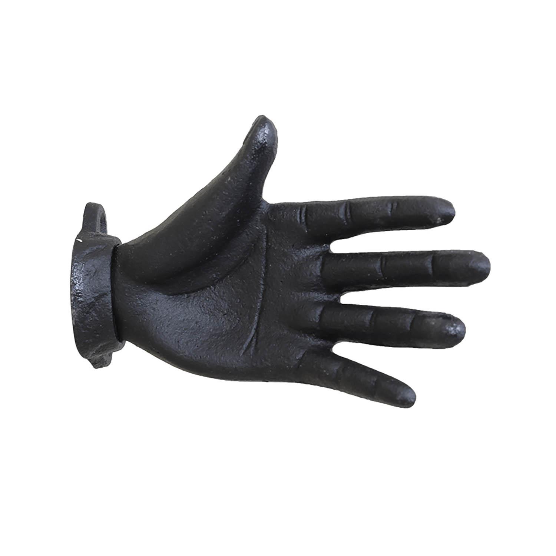 Krok i järn - svart hand i gjutjärn