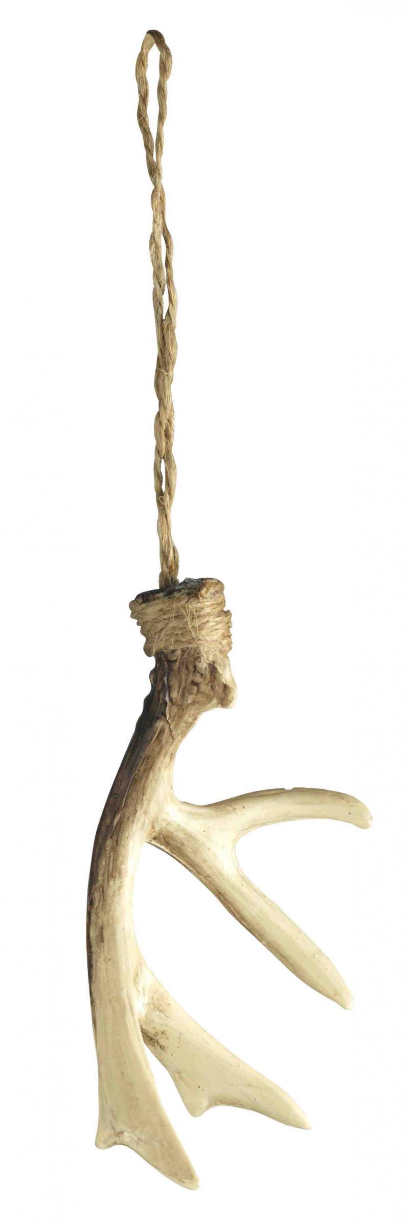 HORN för dekoration - julpynt för julgran