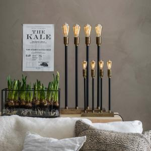 Stor adventsljusstake Raw Candle XL 4-L  PR Home