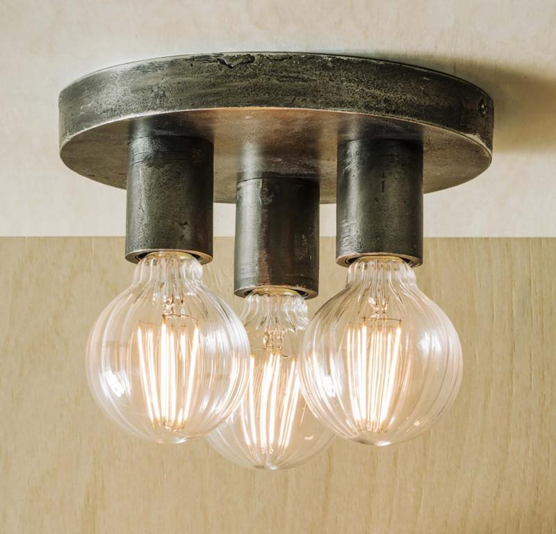 Notice taklampa - takfäste för tre ljuskällor